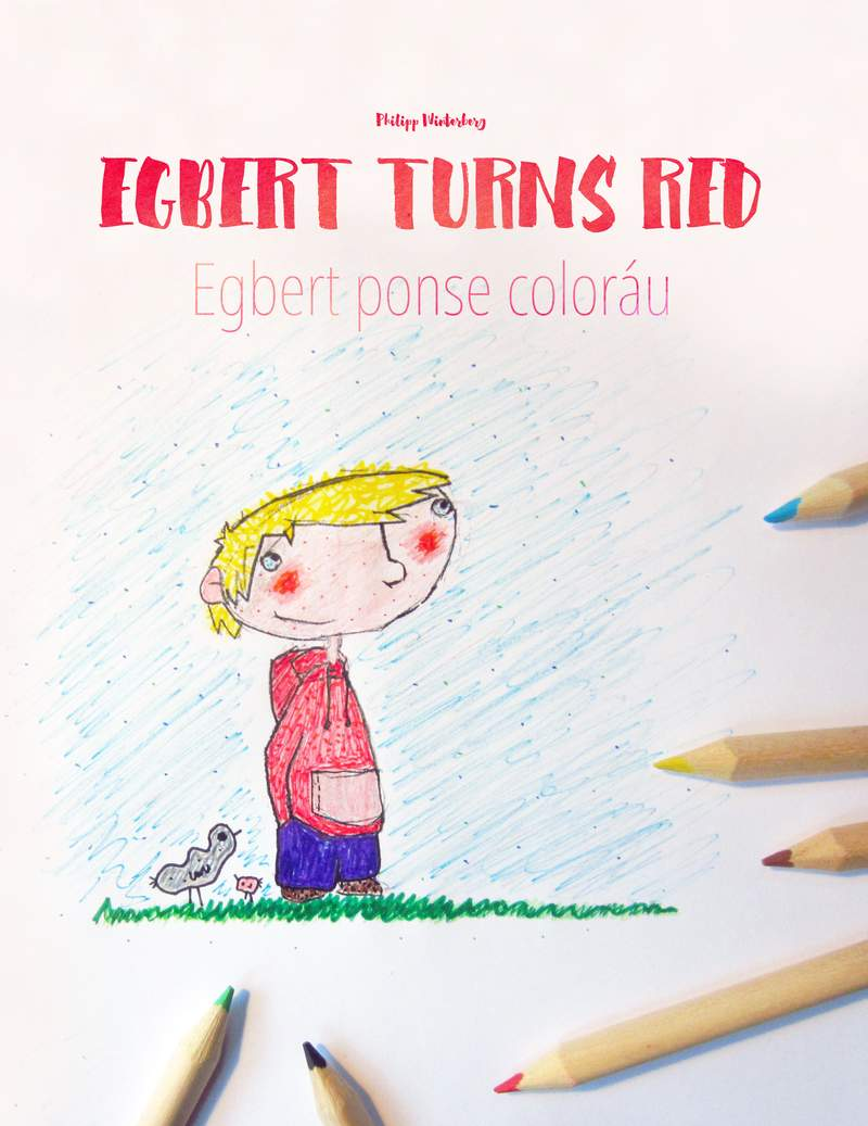 Egbert ponse coloráu